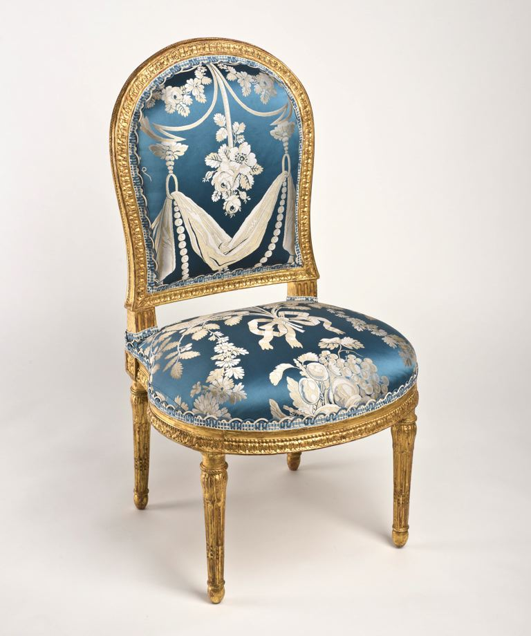 Louis xvi chaise famsf explore the art - Chaises louis 16 ...