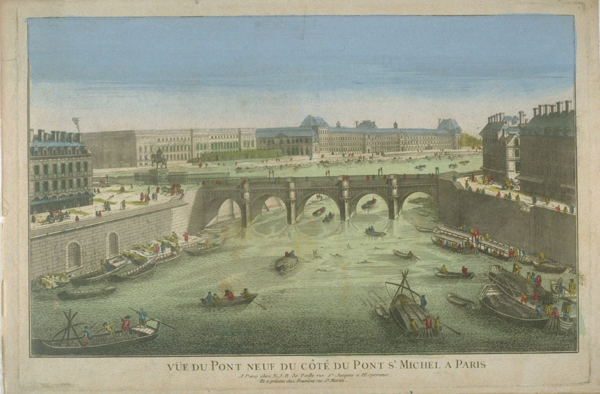 Vue d 39 optique of the pont neuf anonymous famsf explore - Residence belvedere vue pont golden gate ...