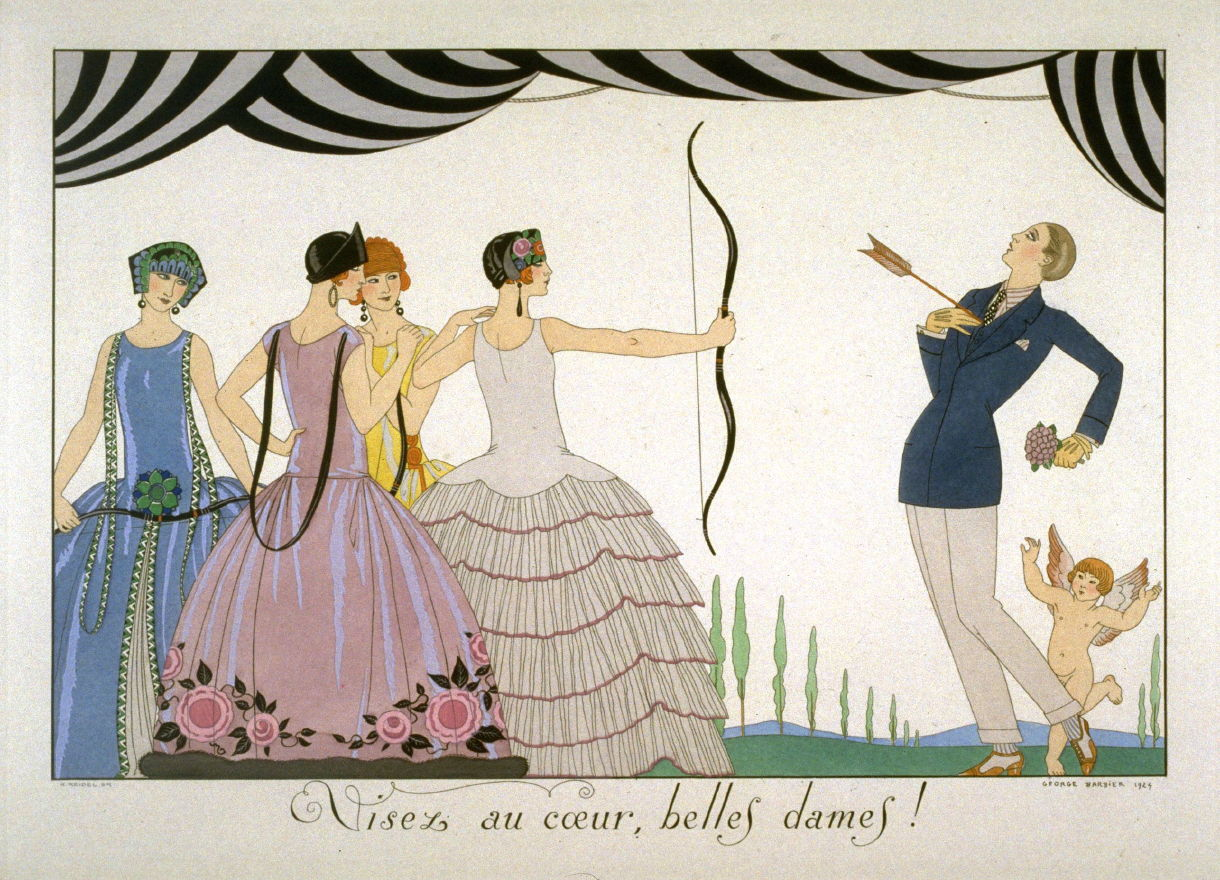 1000 images about georges barbier on pinterest - Le gout du jour moulins ...