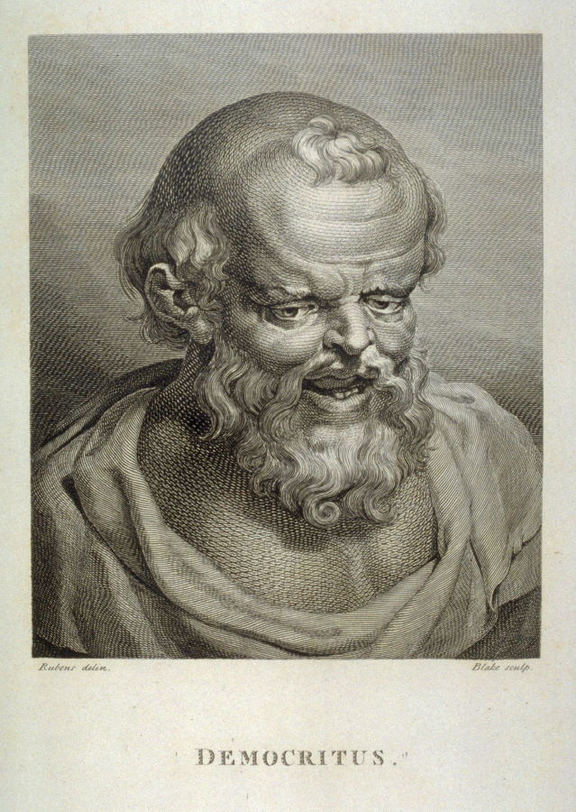 Democritus; Plate 25 from 'Essays on Physiognomy' by John ...
