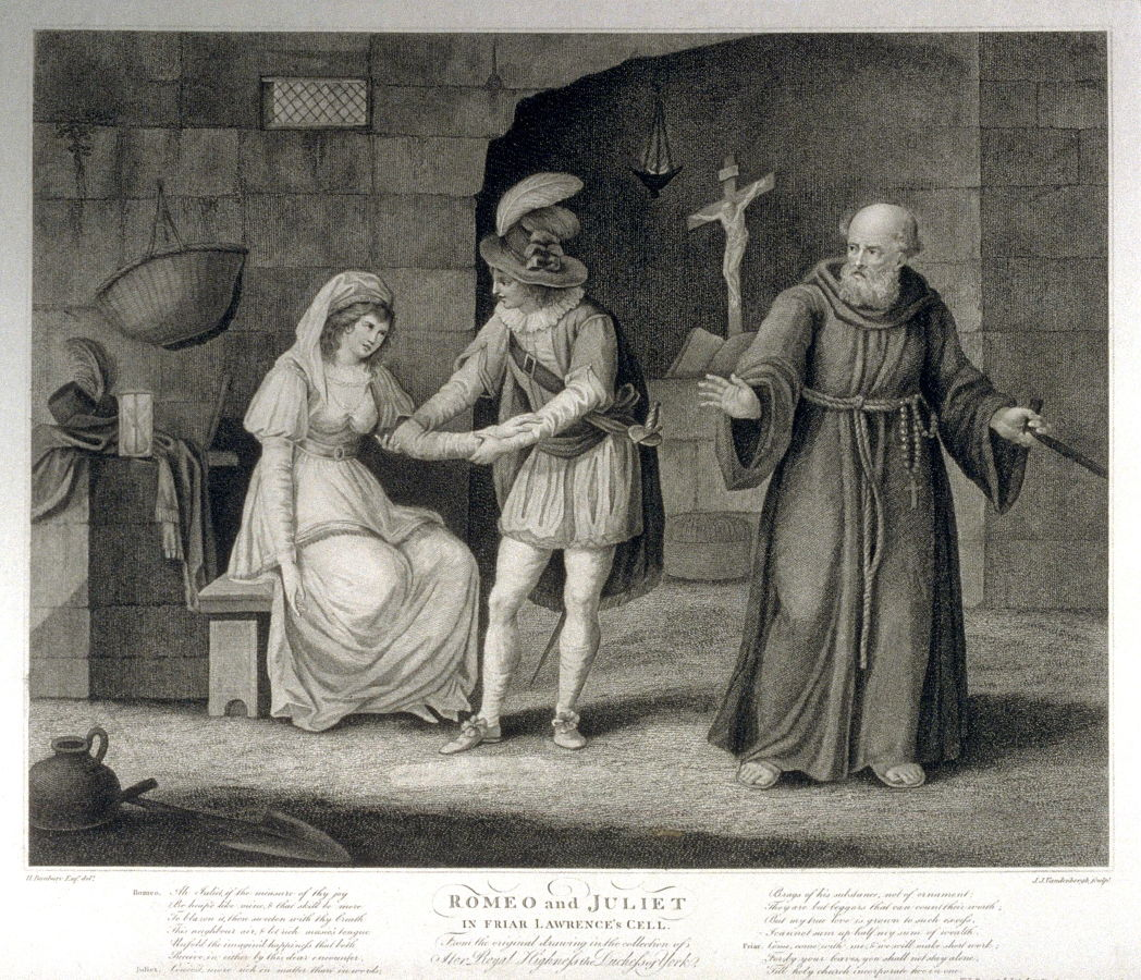 the significant role of friar lawrence in william shakespeares romeo and juliet Romeo and juliet is a tragedy written early in the career of playwright william shakespeare romeo and juliet are 2 young star-cross'd lovers whose deaths.