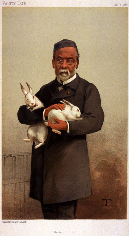 Hydrophobia Louis Pasteur From Vanity Fair January 8 1887