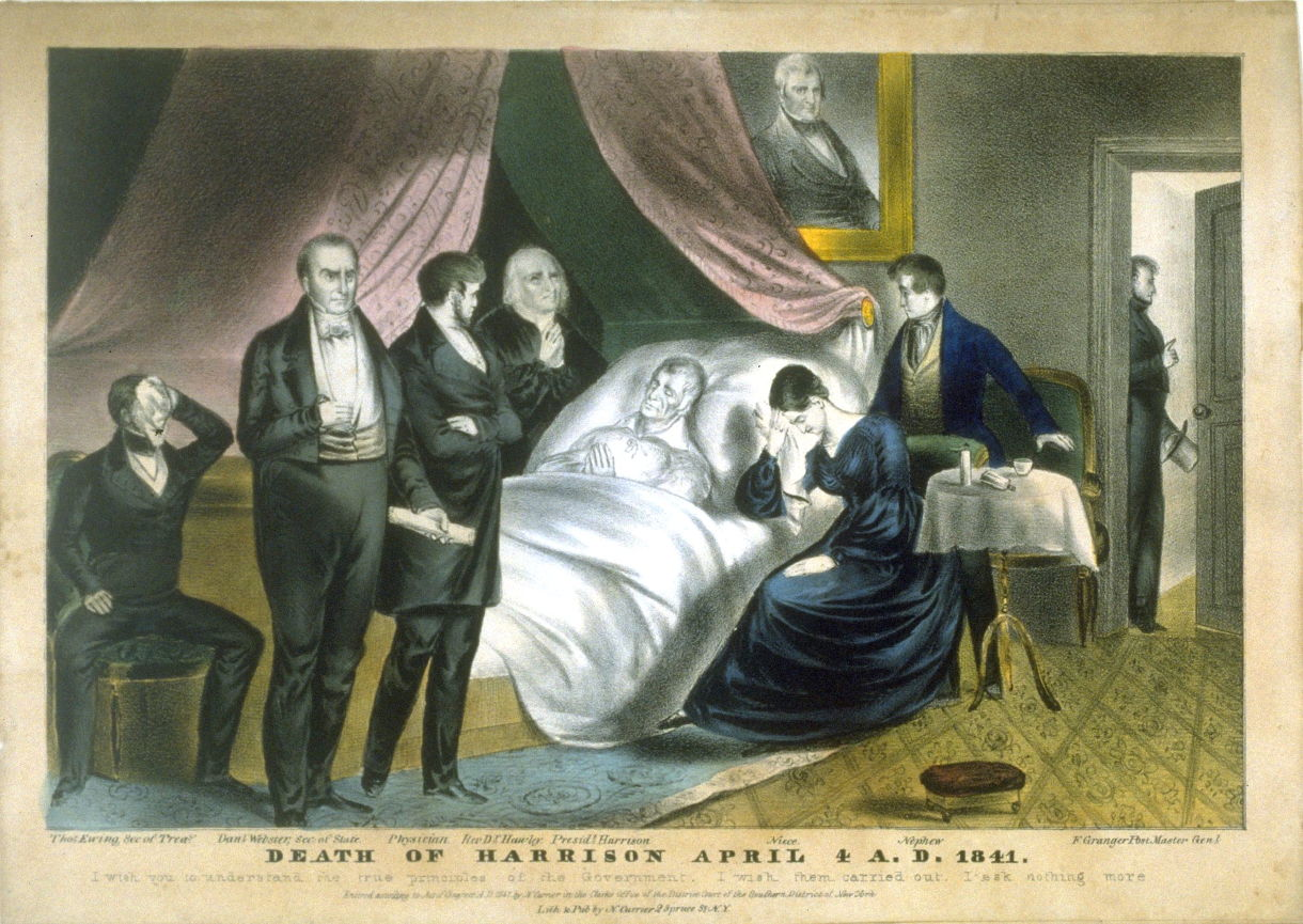 Death of Harrison April 4 AD