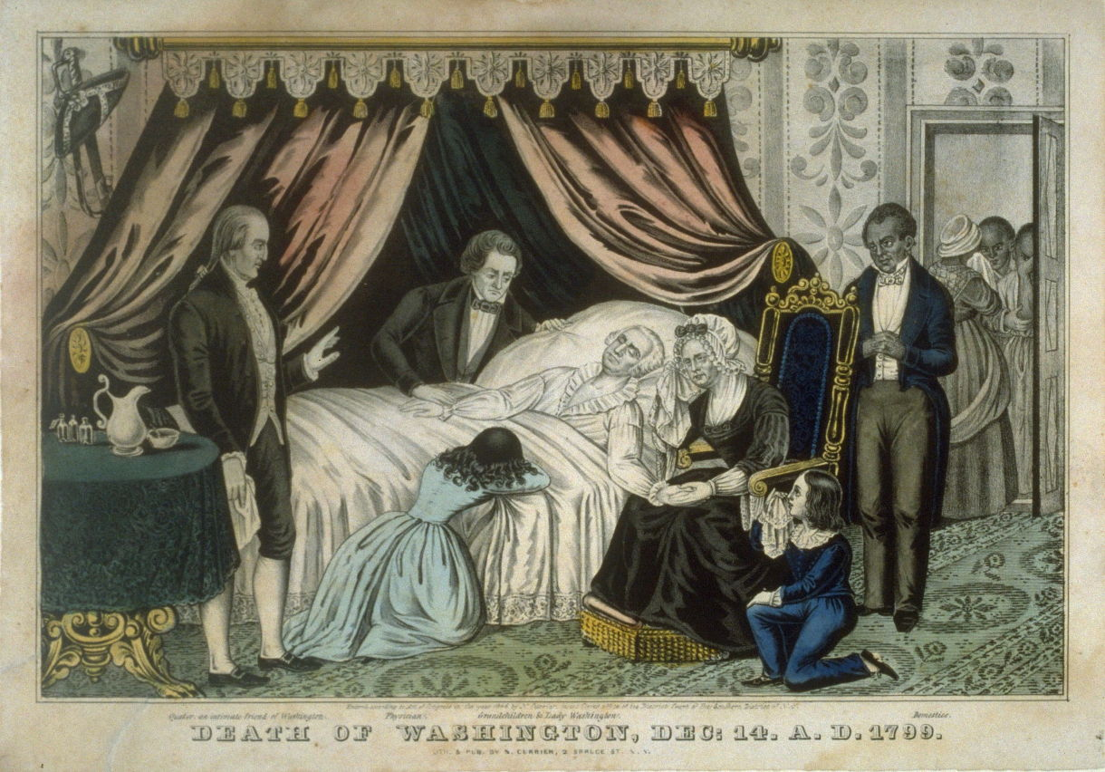 Death of Washington, Dec: 14 . A.D. 1799
