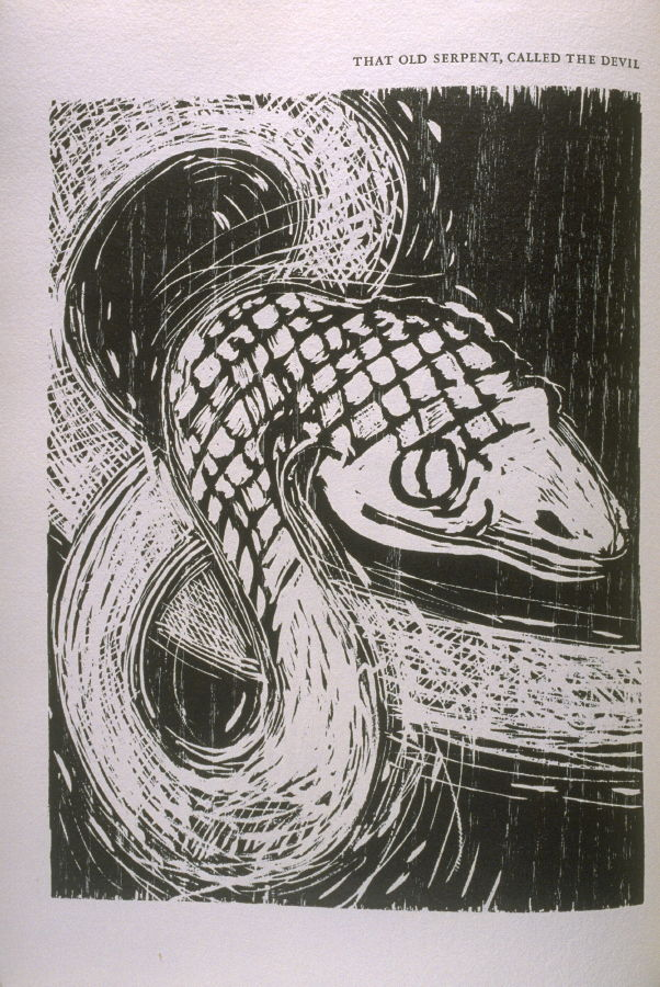 Quot That Old Serpent Called The Devil Quot Illustration In The