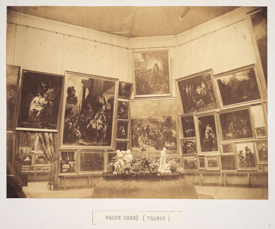 Salon carr delacroix gallery at the exposition for Exposition spa