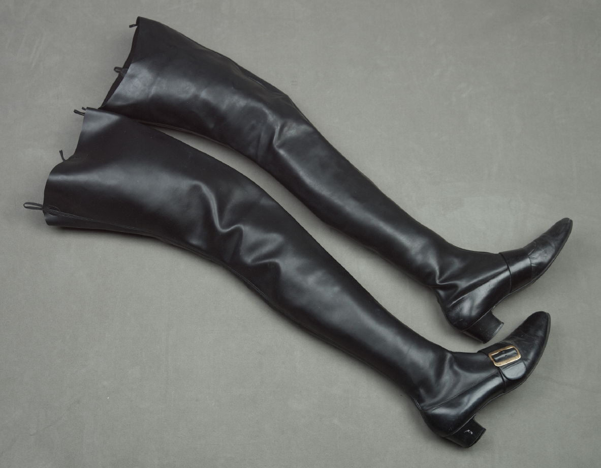 Woman's Thigh-High Boots - David Evins | FAMSF Explore the Art