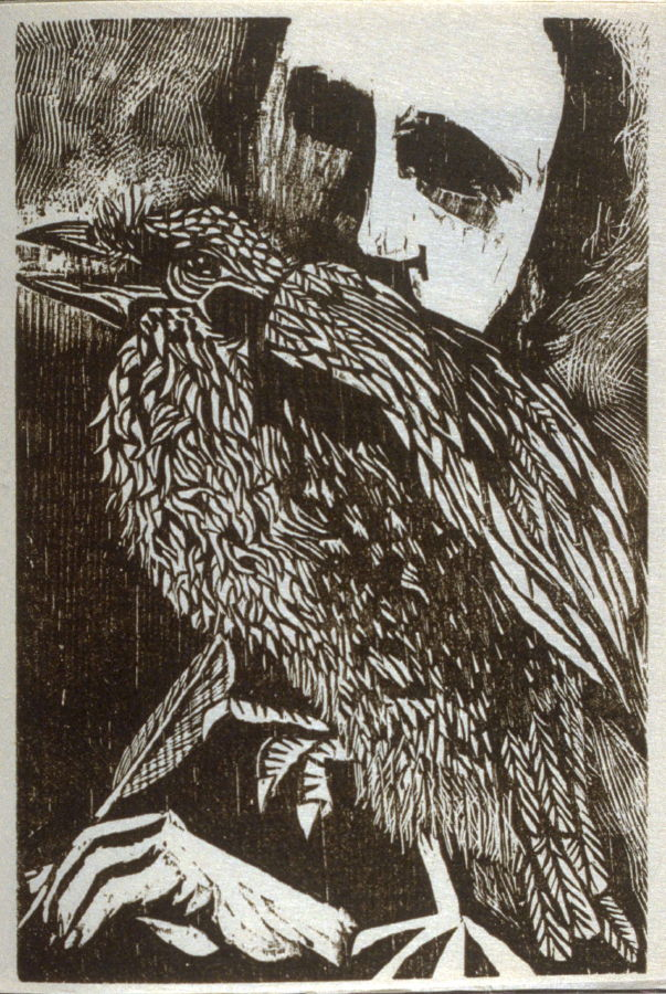 translation of the raven by edgar allan poe