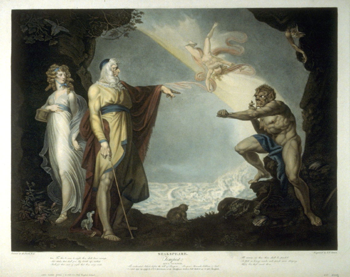 an analysis of acts i and ii of the tempest The tempest read the sparknote.
