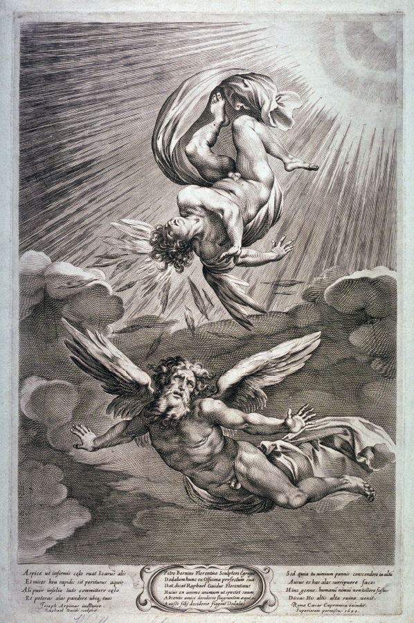 a portrayal of death of hope in the fall of icarus Landscape with the fall of icarus  a hope, a ray of light that  john donne's 1609 poem death be not proud was the poet's attempt to provide the world with a.