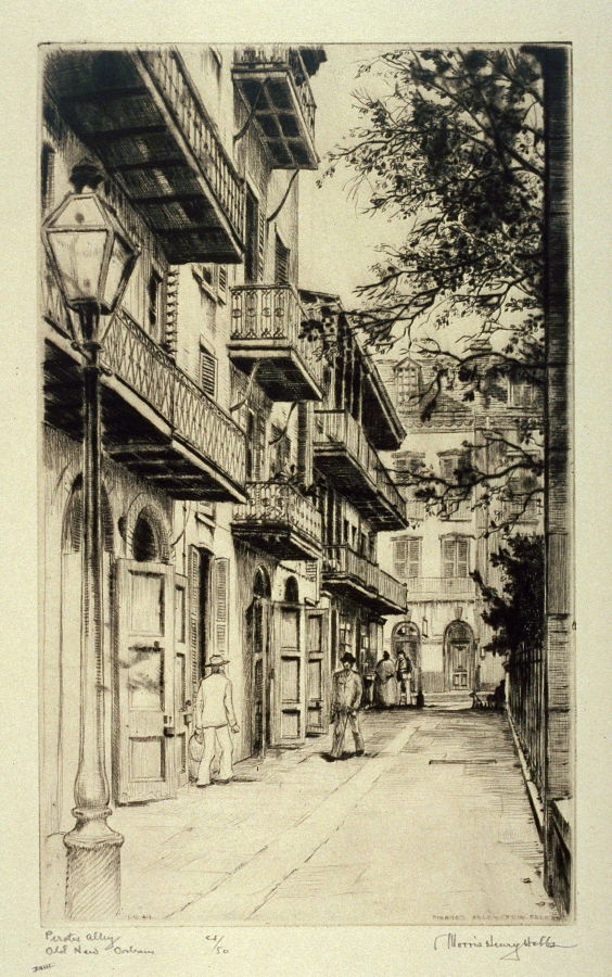 Pirates Alley, Old New Orleans - Morris Henry Hobbs ...