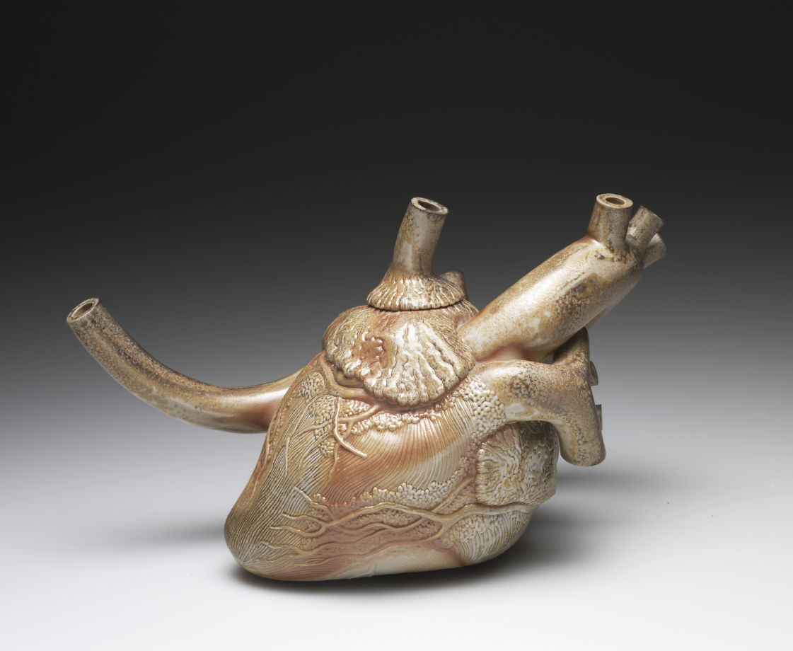 Heart Teapot Richard Notkin Famsf Explore The Art