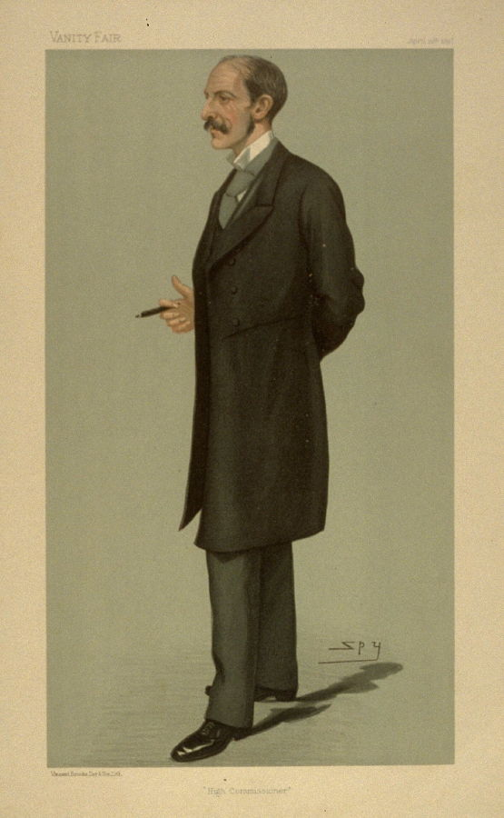 Quot High Commissioner Quot From Vanity Fair April 15 1897