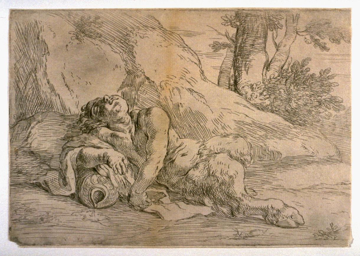 Sleeping Satyr - Flaminio Torri | FAMSF Explore the Art