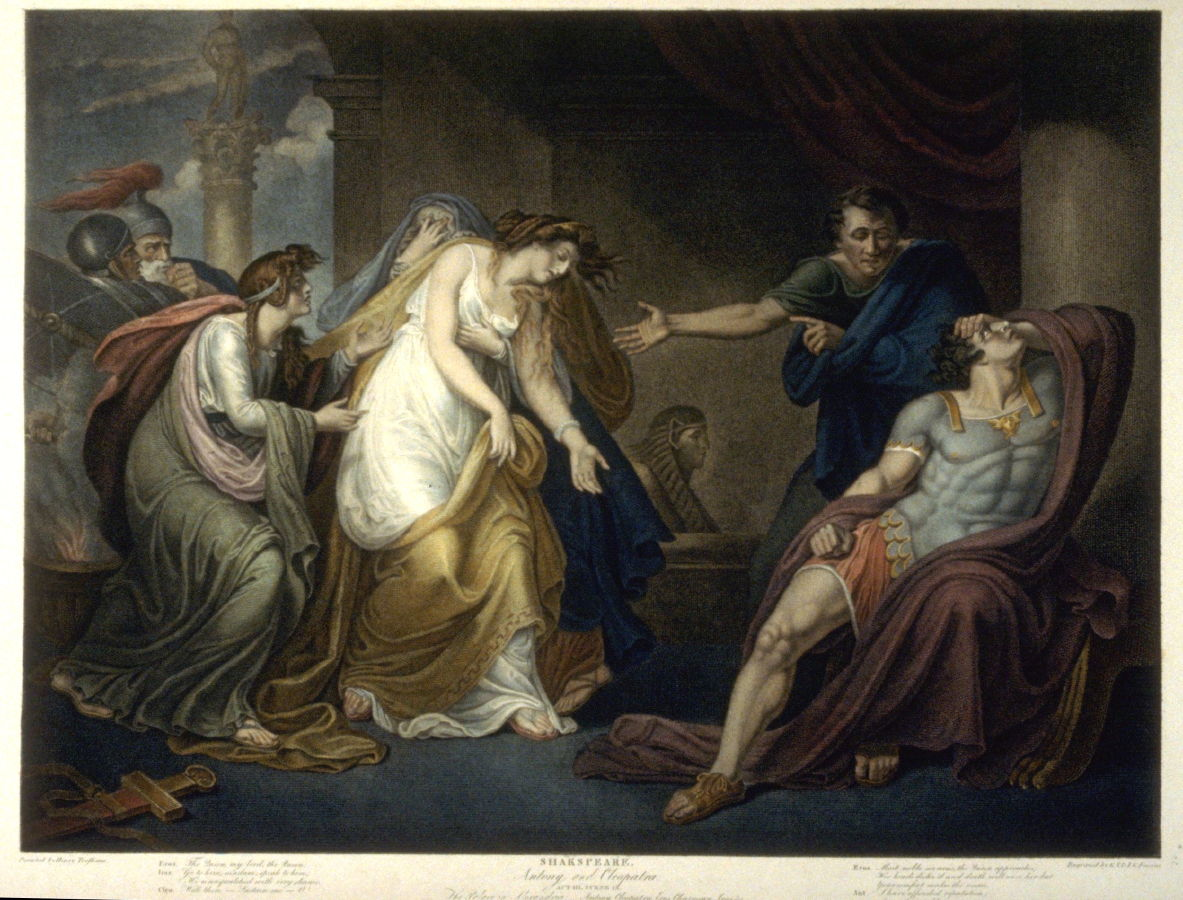 a summary of anthony and cleopatra by shakespeare Approaching shakespeare each lecture in this series focuses on a single play by shakespeare, and employs a range of different approaches to try to understand a central critical question about it.