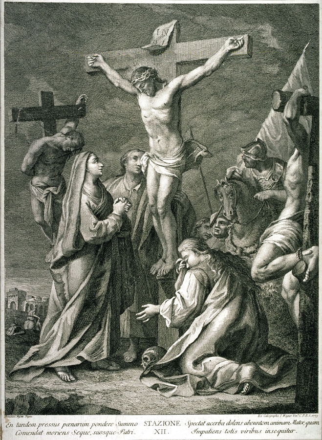 Bad Credit Loan >> The Crucifixion, Station XII from a series, Via Crucis ...