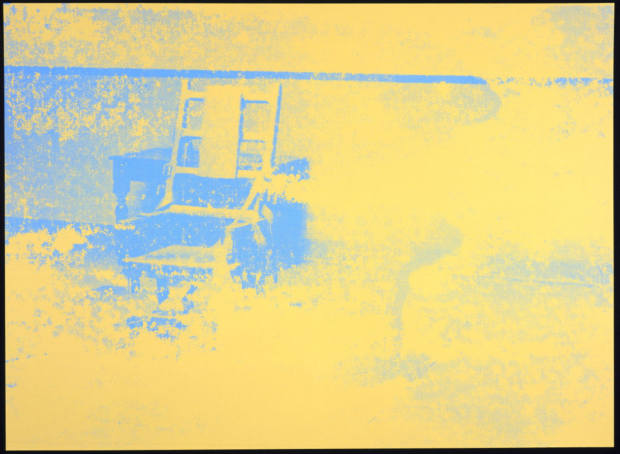 Electric chair andy warhol - Electric Chair