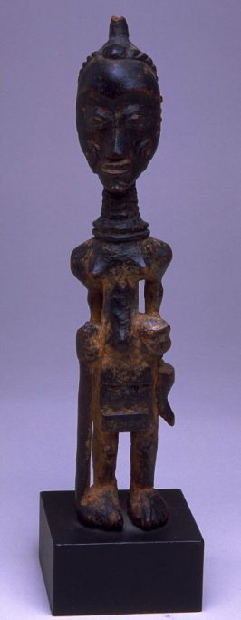 Lupingu Iwa mpanda (Male Figure with Staff)