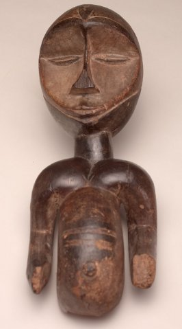 Standing Male Half Torso from a Headdress