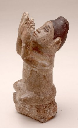 Seated Male Figure (Ntadi) Female?This has several numbers including X number