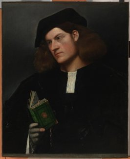 Portrait of a Young Man with a Green Book