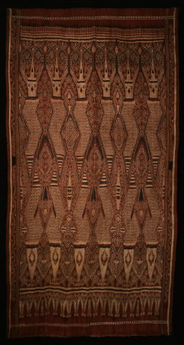Ceremonial cloth (pua kumbu)