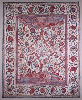 Wall hanging or bedcover (palampore)