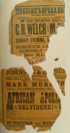 Maguire's Opera House poster, 03/18/1877