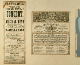 concert programs from San Francisco