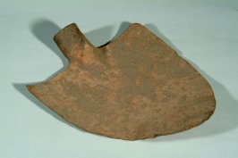 Shovel used in California gold diggings - no handle