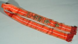 Sash from the Ancient Order of Foresters