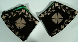 """Cuffs worn by Knights Templars with name """"J.H. McKay"""""""