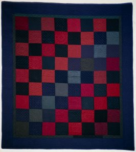 "Quilt: ""Checkerboard"" pattern"
