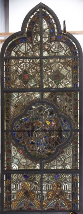 Stained glass window from the Cathedral of Sens