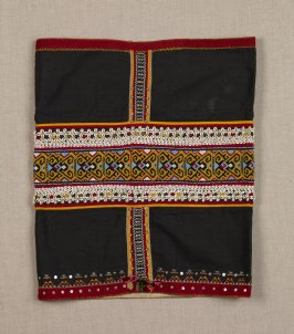 Woman's ceremonial skirt (kain manik)