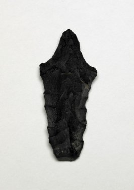 Fragment of unfinished arrow head