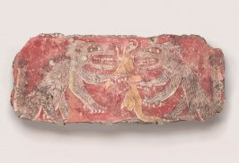 Mural Fragment (coyotes and deer)