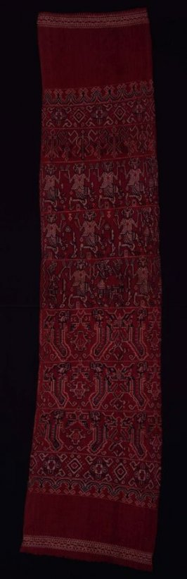 Ceremonial cloth (pua sungkit slendang)