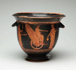 Red-figure lugged krater