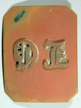 "City Light Guards belt buckle inscribed ""D.L."""