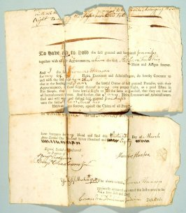 Deed dated 1780