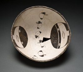 Bowl (Two faces and Insects)