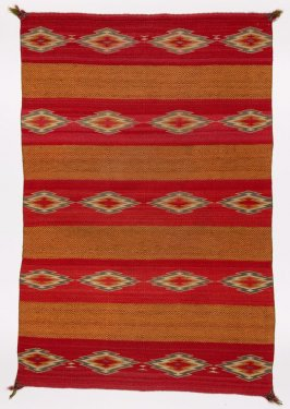 Twill rug or saddle blanket