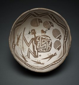 Bowl (Figure in Narrative Scene)