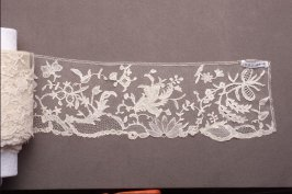 Lace edging, Brussels applique