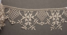 Needle lace edging (oya)