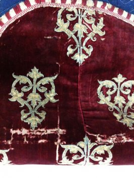 One of two pieces of a chasuble(with .2)
