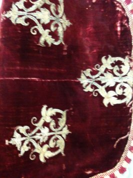 One of two pieces of a chasuble(with .1)
