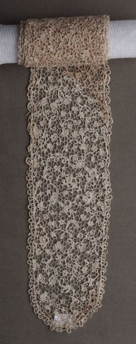 Lappet-Venetian rose point lace