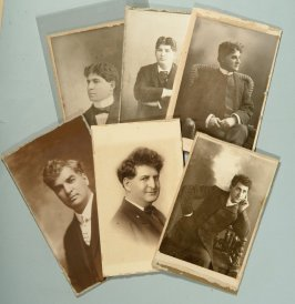 David, Israel, Fred&, Walter Solomon; Henry, and Edward Belasco, San Francisco actors